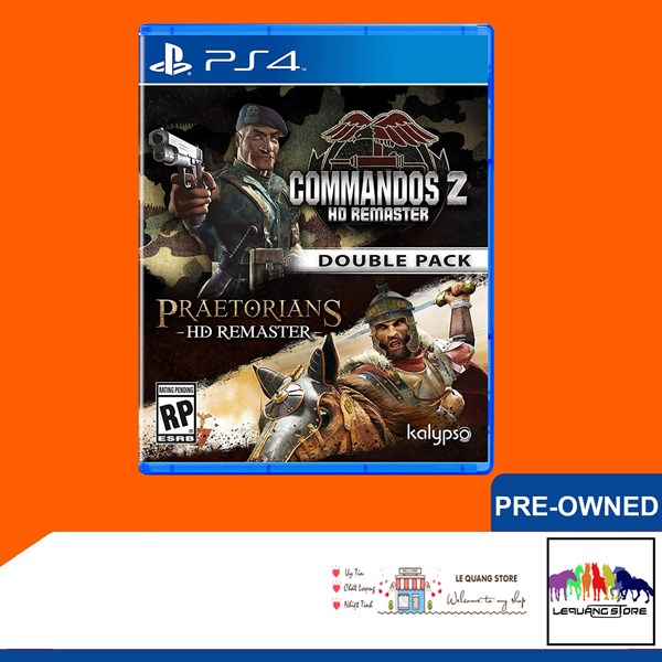 Đĩa Game PS4: Commandos 2 and Praetorians HD Remaster Double Park