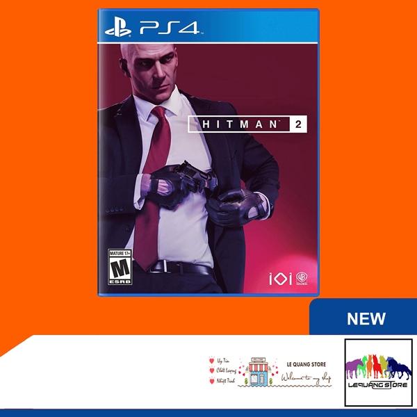 Đĩa Game PS4: Hitman 2