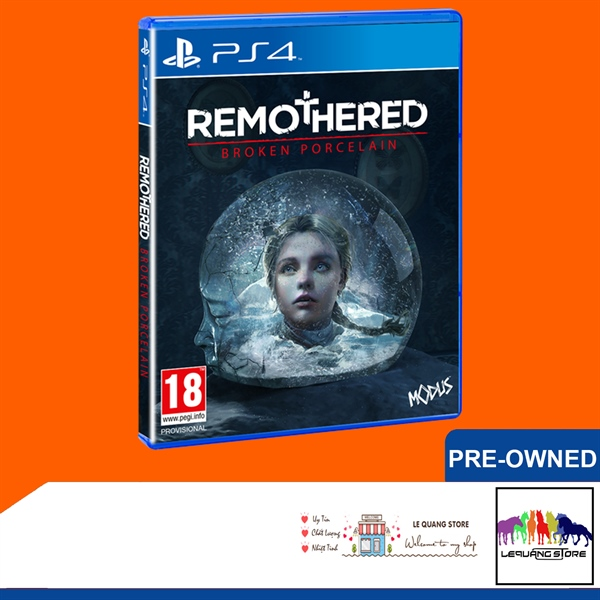 Đĩa Game PS4: Remothered: Broken Porcelain