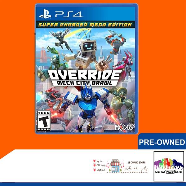 Đĩa Games PS4: Override Mech City Brawl