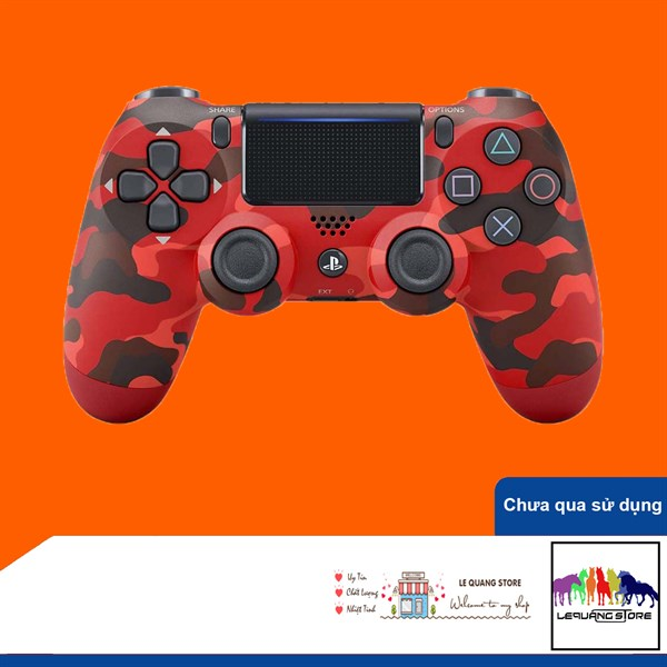 Tay Cầm PlayStation PS4 Sony Dualshock 4 Red Camouflage