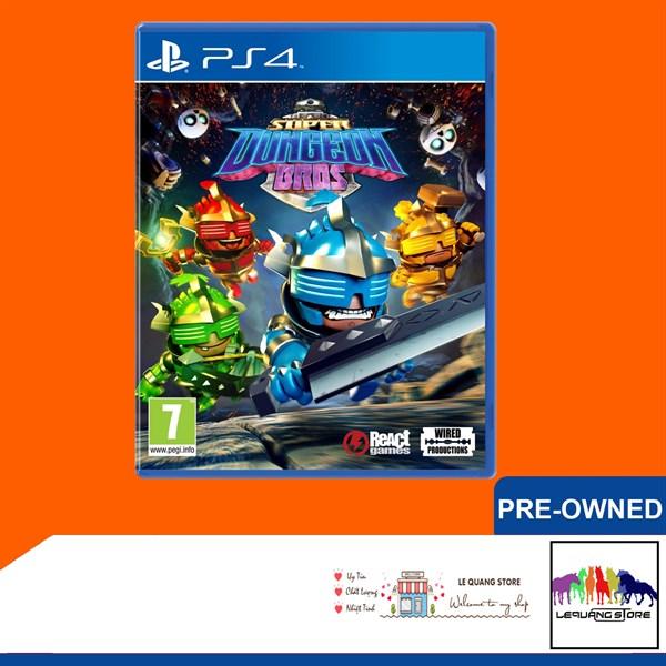 Đĩa Game PS4: Super Dungeon Bros