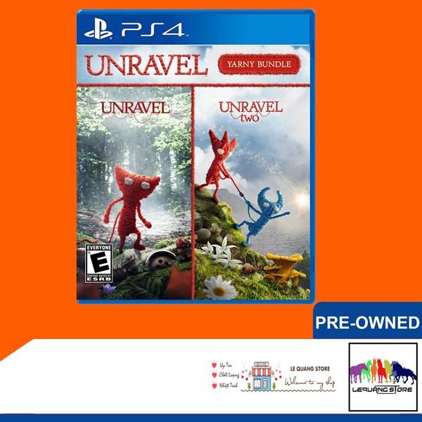 Đĩa Game PS4: Unravel Yarny Bundle