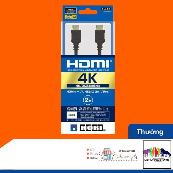 Cáp HORI HDMI 4K/2K HDR 2m (Bản thường)