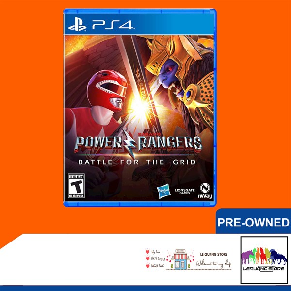 Đĩa Game PS4: Power Rangers: Battle for the Grid