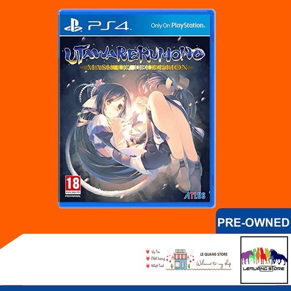Đĩa Game PS4: Utawarerumono: Mask of Deception