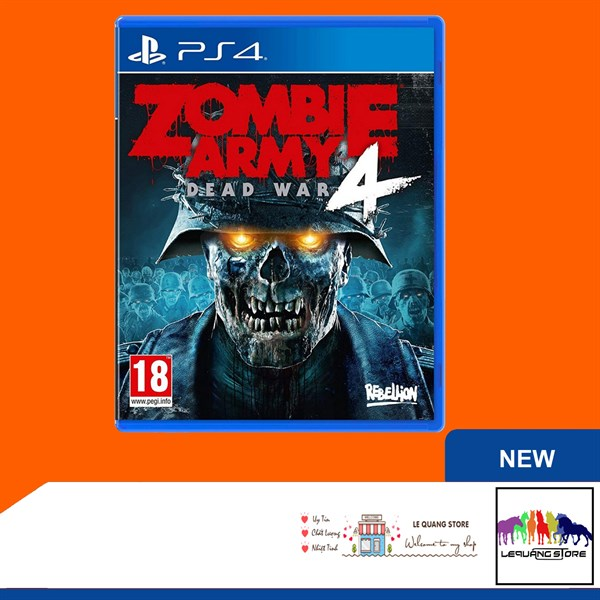 Đĩa Games PS4: Zombie Army 4: Dead War