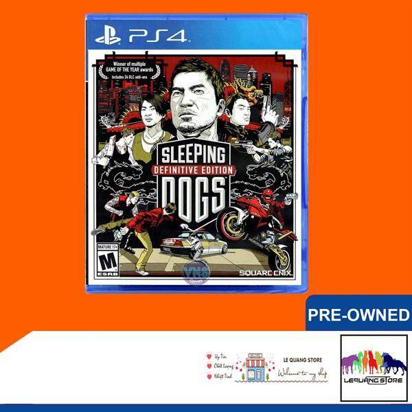 Đĩa Game PS4: Sleeping Dogs