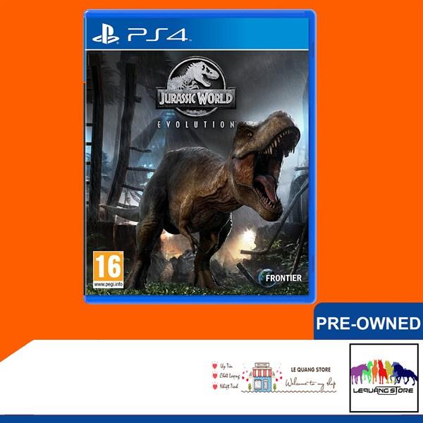 Đĩa Game PS4: Jurassic World Evolution