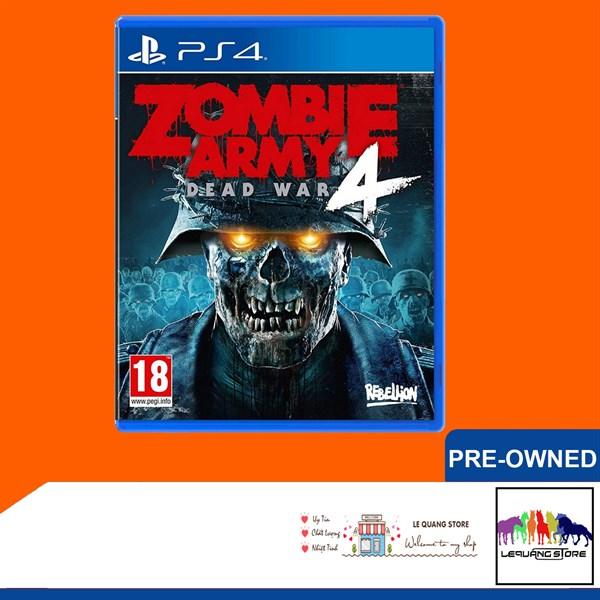 Đĩa Games PS4: Zombie Army 4: Dead War