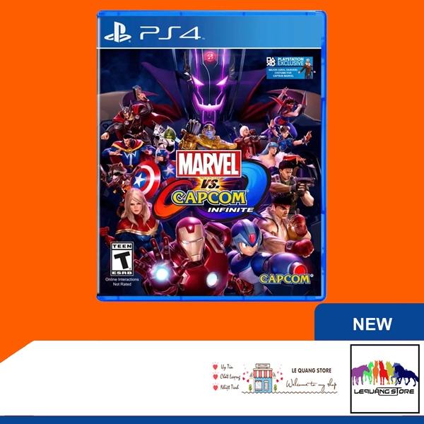 Đĩa Game PS4: Marvel vs. Capcom Infinite