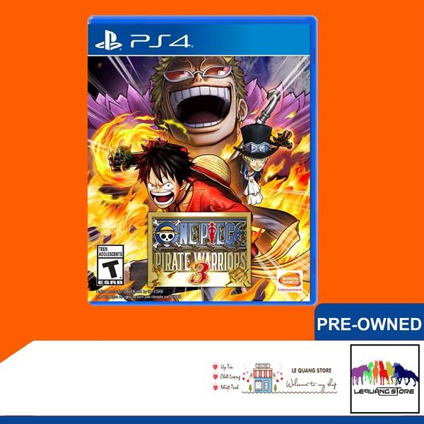 Đĩa Game PS4: One Piece: Pirate Warriors 3