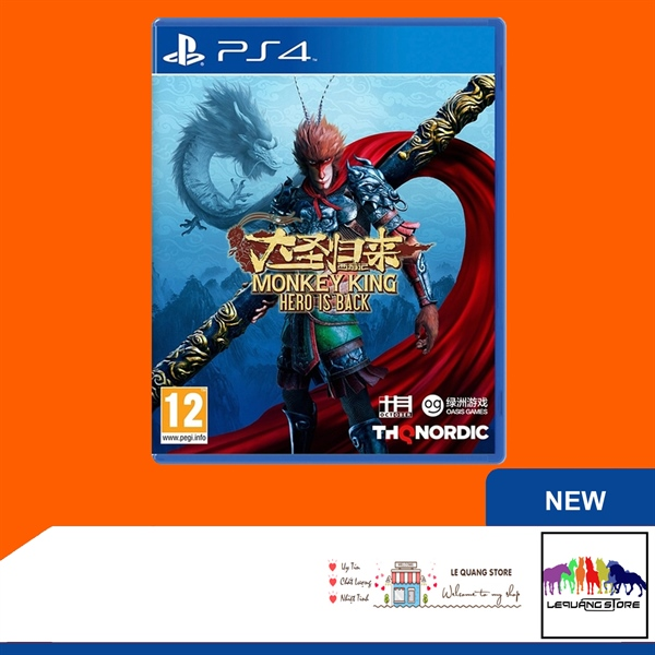 Đĩa Game PS4: Monkey King: Hero Is Back
