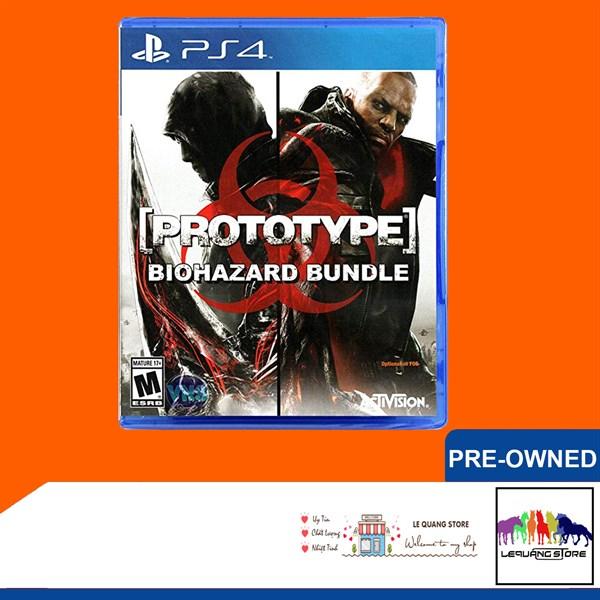 Đĩa Game PS4: Prototype: Biohazard Bundle