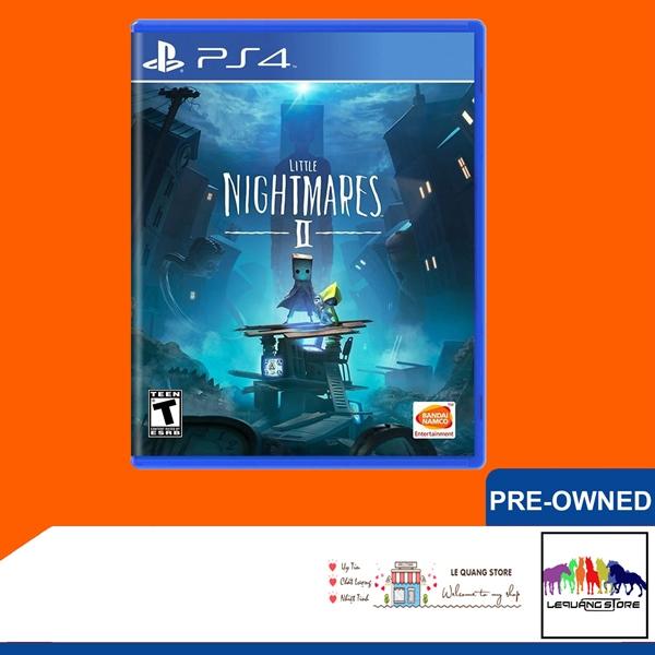 Đĩa Games PS4: Little Nightmares 2