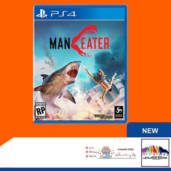 Đĩa Games PS4: Maneater