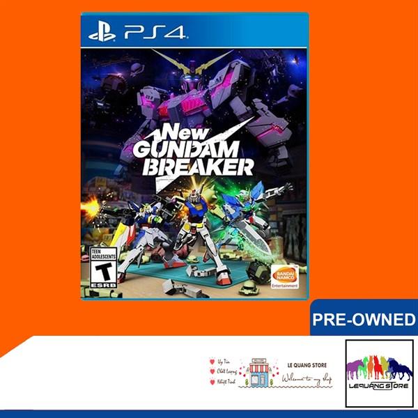 Đĩa Game PS4: New Gundam Breaker