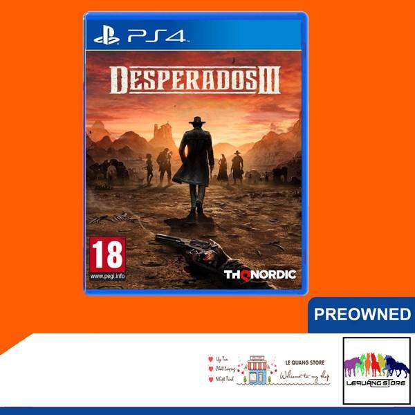 Đĩa Game PS4: Desperados 3