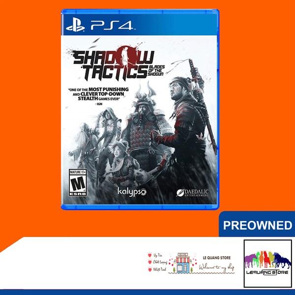 Đĩa Game PS4: Shadow Tactics