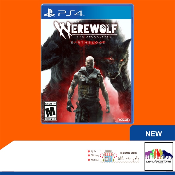 Đĩa Game PS4: Werewolf: The Apocalypse - Earthblood