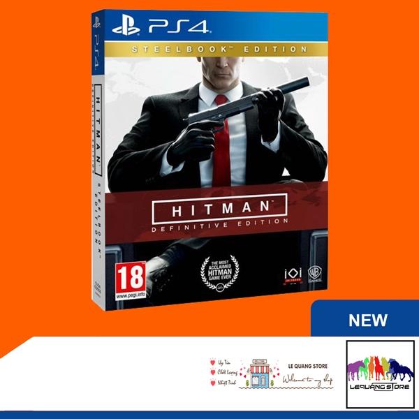 Đĩa Game PS4: Hitman Definitive Edition (Steelbook)
