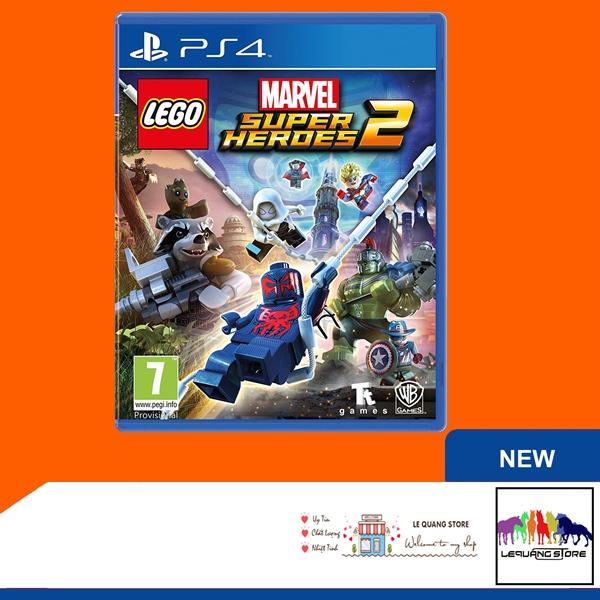 Đĩa Game PS4: LEGO Super Heroes 2