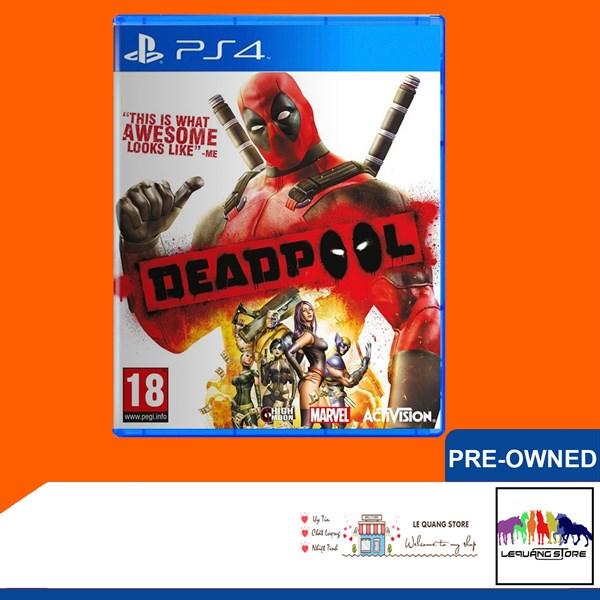 Đĩa Game PS4: Deadpool