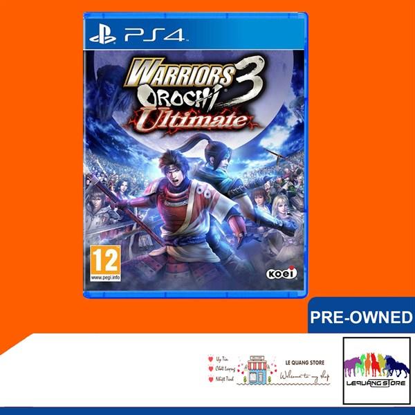 Đĩa Game PS4: Warrios Orochi 3 Ultimate
