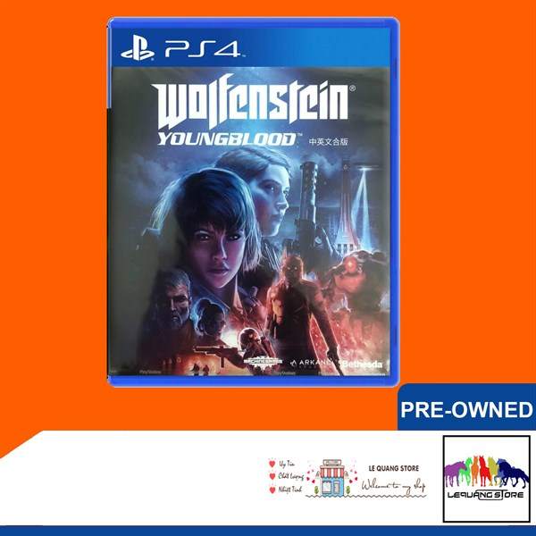 Đĩa Game PS4: Wolfenstein: Youngblood