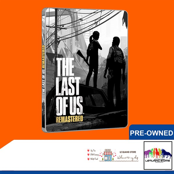 Đĩa Game PS4: The Last of Us Remastered - Steelbook Edition
