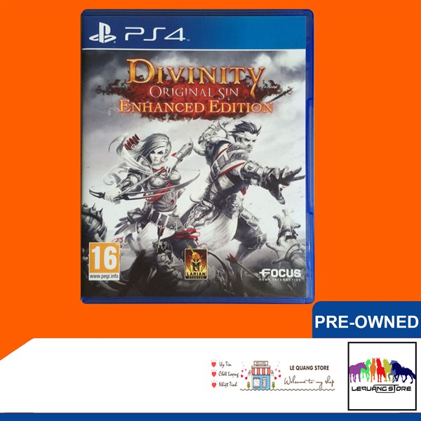 Đĩa Game PS4: Divinity: Original Sin Enhanced Edition