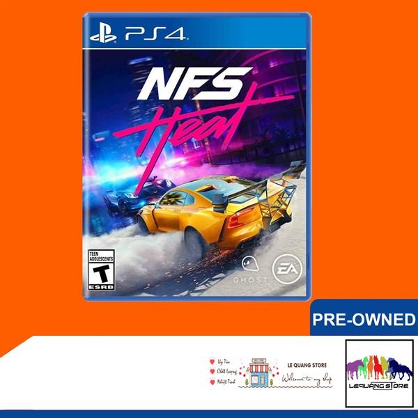 Đĩa Game PS4: Need for Speed: Heat