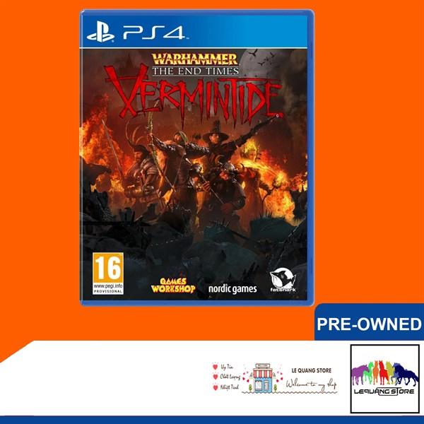 Đĩa Game PS4: Warhammer: The End Times - Vermintide