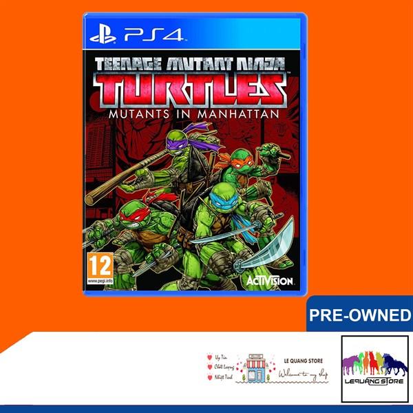 Đĩa Game PS4: Teenage Mutant Ninja Turtles: Mutants in Manhattan