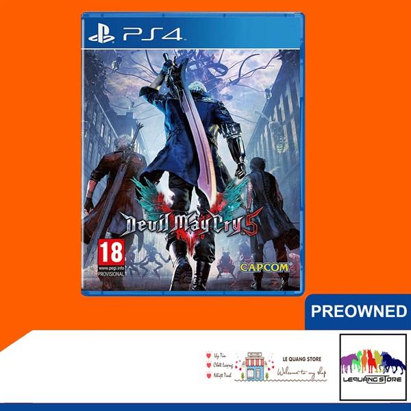 Đĩa Game PS4: Devil May Cry 5