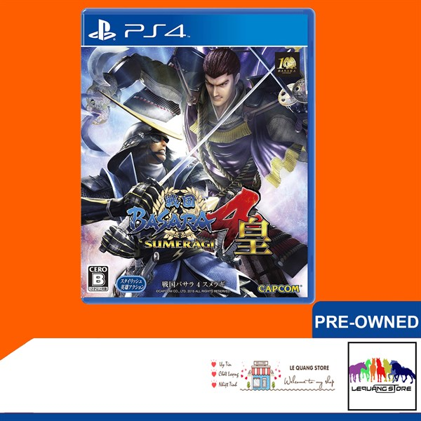 Đĩa Game PS4: Sengoku Basara 4