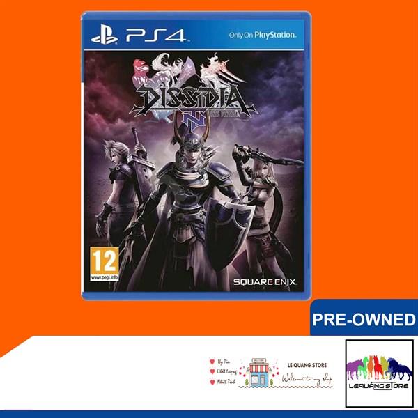 Đĩa Games PS4: Dissidia Final Fantasy NT