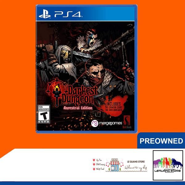 Đĩa Game PS4: Darkest Dungeon