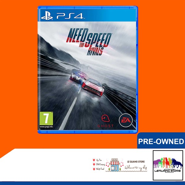 Đĩa Game PS4: Need for Speed: Rivals