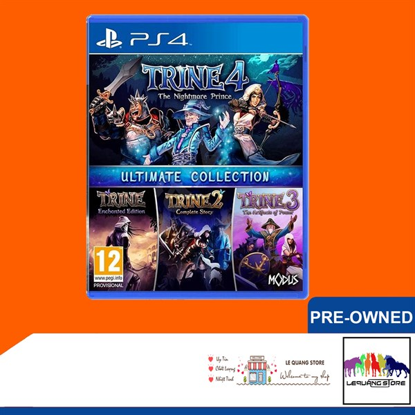 Đĩa Game PS4: Trine Ultimate Collection