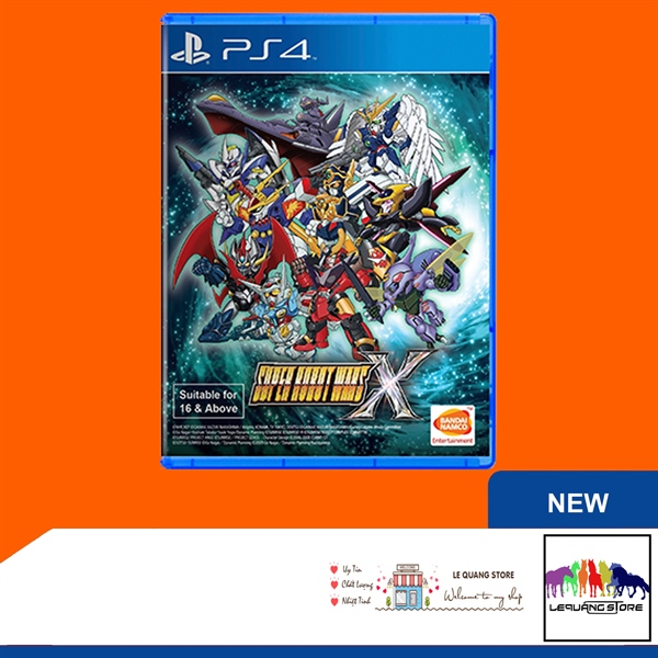 Đĩa Game PS4: Super Robot Wars X