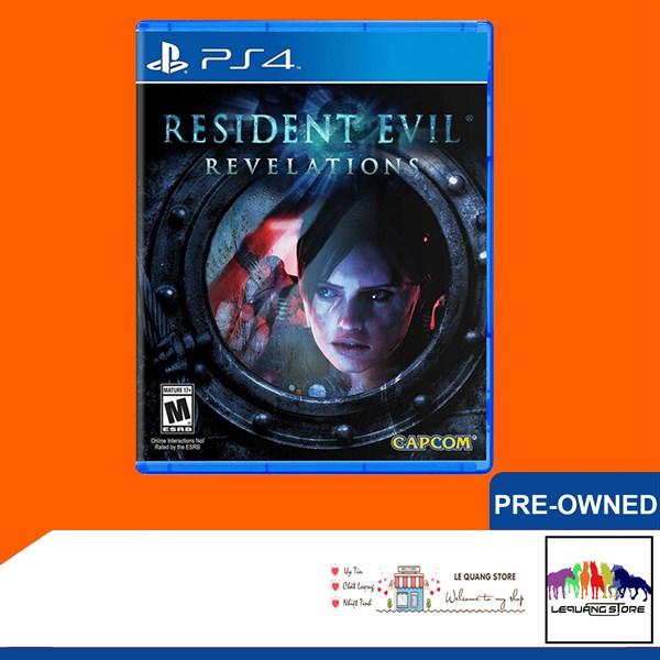 Đĩa Game PS4: Resident Evil Revelations