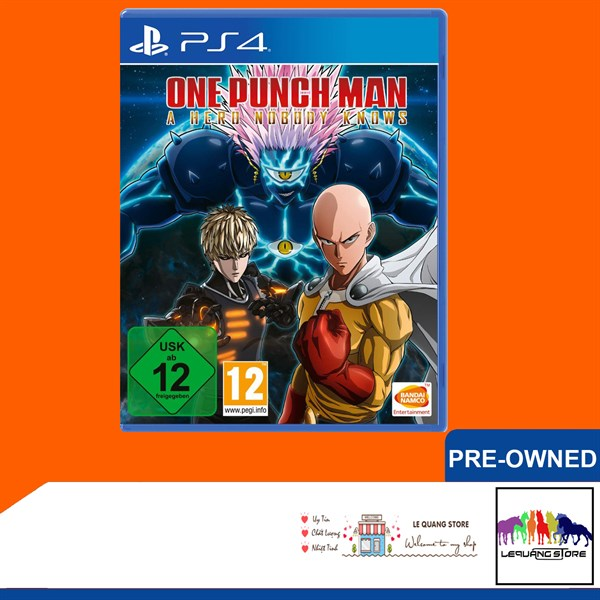 Đĩa Games PS4: One Punch Man: A Hero Nobody Knows