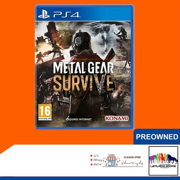 Đĩa Game PS4: Metal Gear Survive