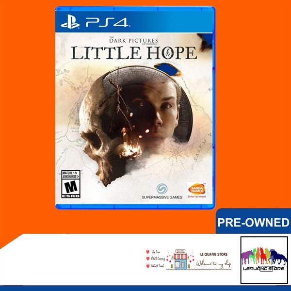 Đĩa Game PS4: The Dark Pictures Anthology: Little Hope