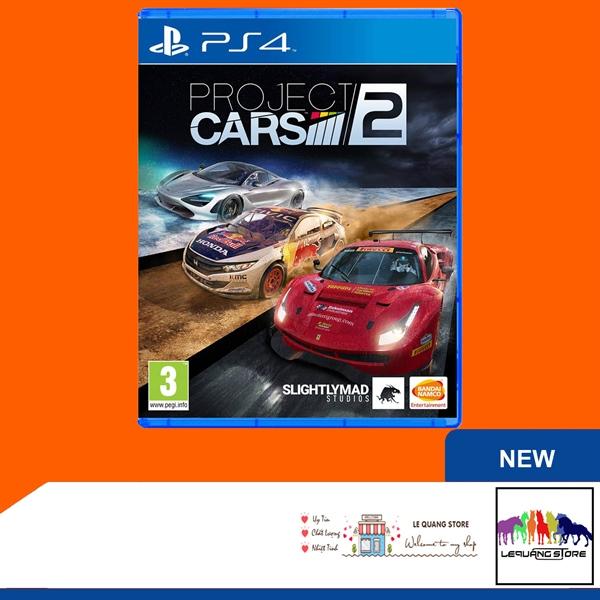 Đĩa Game PS4: Project Car 2