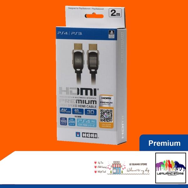 Cáp HORI HDMI 3D 4K/2K HDR 2m (Bản Pemium)