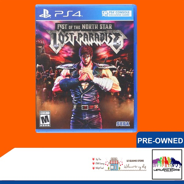 Đĩa Game PS4: Fist of the North Star: Lost Paradise