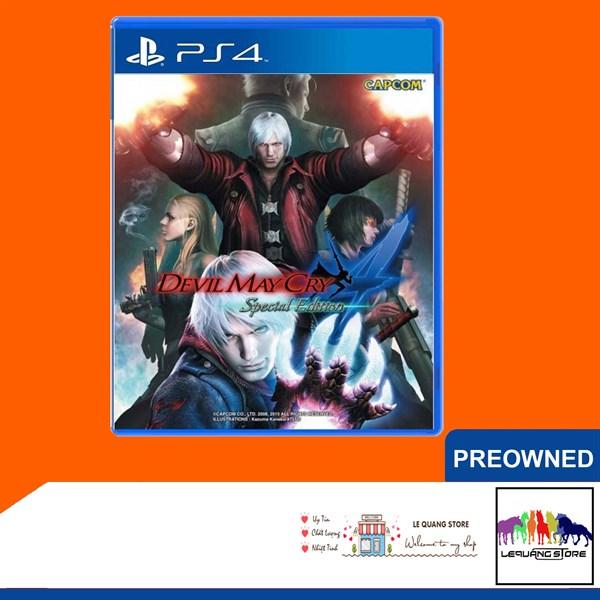 Đĩa Game PS4: Devil May Cry 4
