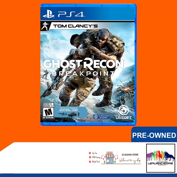 Đĩa Game PS4: Tom Clancy's Ghost Recon Breakpoint